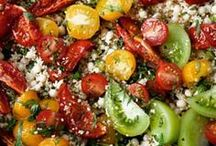 Salad Yumminess / If it has lettuce and/or veggies with dressing on it, then it belongs right here! Enjoy! / by Lin Larson