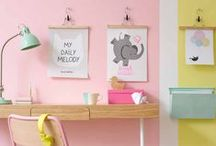 Girls Room Decor / Decor ideas for a girly haven