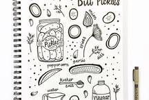 My Sketchbook / Jayme Hennel's Sketchbook Illustrations