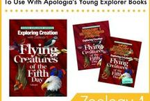 Homeschool - Sci: Zoo1 (Flying Animals) / Resources for Fulbright's Apologia elementary science book