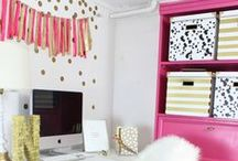 Home Office & Studio Inspiration / Ideas for my dream creative space