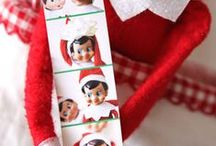 elf on the shelf / Ideas and inspiration for our Christmas visitor - the elf on the shelf. He sure does cause some mischief!