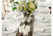Rustic Event Decor / by Plum Sage Flowers