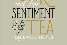 Tea / #tea #leaves #beverage #english #england