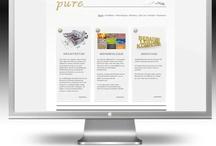 WEBDESIGN / Arbeitsbeispiele aus dem Bereich Webdesign und Realisierung.