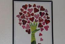 Valentine art projects / by Monique Martello