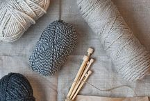 Knitting, crocheting and sewing / by Andrea McClung