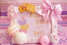 .。:*+゜゜FRAM*:.。.*:+☆ / (✿◖◡◗)sweets deco picture fram❤(◕‿◕✿)