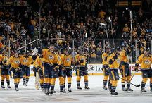 Our Nashville Predators!!! / Our favorite hockey team!! / by Sarah Carroll