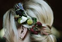 Hair Flowers / by Plum Sage Flowers