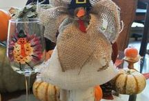 Thanksgiving / Thanksgiving recipes, Thanksgiving tables, Thanksgiving decor, Fall crafts