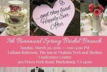 7th Biannual NRV Bridal Brunch & Spring Showcase / https://www.facebook.com/events/859609517491663/