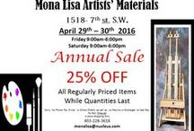 Art Supplies / Annual Sale this Friday and Saturday