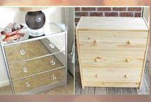 ☆゚+.DIY♪IKEA+.☆ / mirrored furniture