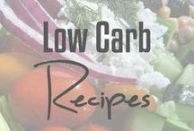 Low Carb Recipes / Looking for low carb dinner and dessert ideas? Here you go!