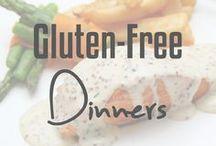 Gluten-Free Dinners / Gluten-free dinner ideas and recipes.