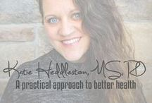 KatieHeddleston.com / Recipes, nutrition information, fitness, and more straight from my website.