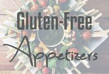 Gluten-Free Appetizers / Gluten-free appetizer ideas and recipes.