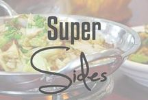 Super Sides / Great side recipes - from veggies to quinoa.