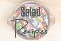 Salad Recipes / Healthy, fresh, delicious salads