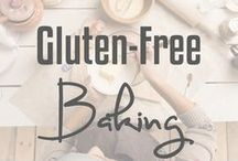 Gluten-Free Baking / Breads, cakes, scones, and more! Gluten-free baking is can be delicious and healthy.