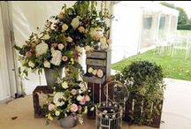 Marquee decoration details / For weddings and parties. Those little details that can make the difference between a succesful marquee hire and an outstanding one
