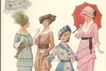 Art-Vintage Fashion Drawings,Illustrations / by Sandi Holmes