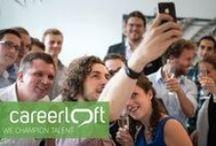 careerloft / Fotos und Videos vom Karrierenetzwerk www.carerloft.de, welches sich an Studenten und Absolventen richtet.