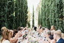 Summer Wedding Inspiration / Summer nights and a Summer's love. Plan a Summer wedding with these ideas.