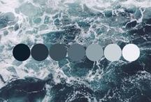 Wedding Color Inspiration / Color palette inspiration for your wedding day planning featuring Pantone colors
