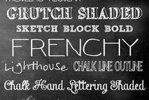 Font Hoarder / Fun fonts, pretty fonts.