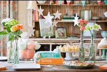 Party Time: Decorating & Fun Ideas for Parties / Decorating, themes, and food ideas for all kinds of parties