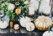 Fall Wedding Inspiration / Fall in love with all things agrestic. Plan for your Fall wedding with these wedding inspirations.