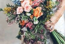 Wedding Flowers / Flower arrangement, bridal bouquets and floral inspirations for your wedding day
