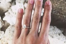 """Engagement Rings and Wedding Bands / Gorgeous engagements rings and pretty wedding bands  """"If you like it then you should have put a ring on it""""."""