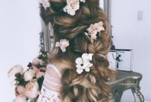 Wedding Hairstyles / Just a few of our favorites wedding day hairstyles for your big day. From classic up-do's, to casual-chic.