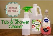 For the Home - Natural & Homemade Cleaning / Ideas & recipes for natural & homemade cleaning products