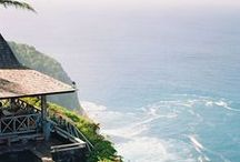 Honeymoon Ideas / Spaces and places for your happily ever after. Honeymoon destination ideas