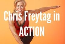 Chris Freytag in ACTION / Here is a collection of some of the things I do.  I love not having a desk job! Here is who I work with and where I go!  / by Chris Freytag- Health & Fitness Expert