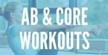 Ab & Core Workouts / Sick of boring crunches? Get to the core with these oblique, and ab exercises that will get your body ready for the beach!