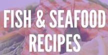 Recipes: Fish & Seafood / Fish and seafood is a great sources of Omega-3s and protein. Try these super tasty recipes that are great for grilling and sharing!