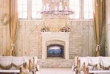 Rustic Wedding Ideas / Wedding inspiration for a chic, rustic and glamorous country, farm, barn or DIY wedding.