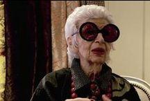 Fashionable old ladys