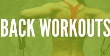 Back Workouts / From pain relief to increased flexibility try this variety of exercises and workouts to strengthen and tone your back muscles, and improve your posture!