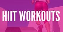 HIIT workouts / Find out the latest and greatest info on why High Intensity Interval Training and Tabata workouts are the hottest trend in exercise with these quick workouts and fitness tips.