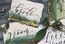 Ombre & Watercolor Wedding Ideas / Add a splash of color to your wedding planning with these ombre and watercolor ideas.
