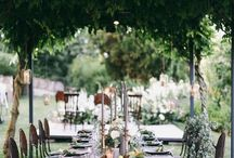 Garden Wedding Ideas / Garden Wedding Inspirations.