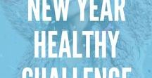 New Year New You Challenge / The New Year gives us all a fresh start to commit to fitness and clean eating. Try these healthy recipes, workouts, and fitness tips and challenge yourself to change for the better!