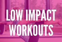 Low Impact Workouts / Try these low impact workouts and still get a killer workout, and burn mega calories while you protect your joints.