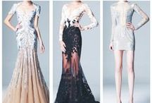 style | haute gowns / just another dream closet - sequins, beads + lace!